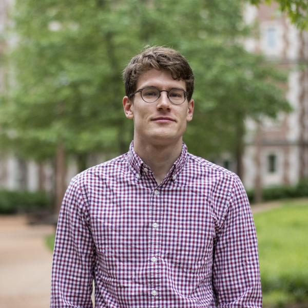 Ben Henke awarded 2019 Stenner Prize for Graduates